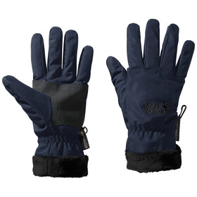 Jack Wolfskin Stormlock Highloft Gants Femme, midnight blue
